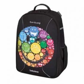 Plecak szkolny Be.Bag Airgo Tęczowa buźka (0011437951)
