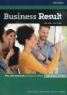 Business Result Pre-Intermediate Student's Book with Online practice