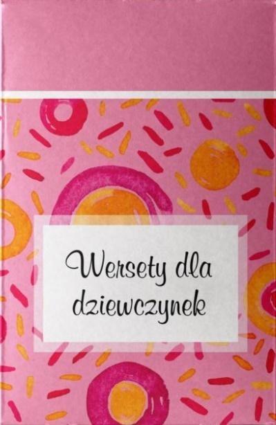 Pudełko - wersety dla dziewczynek praca zbiorowa
