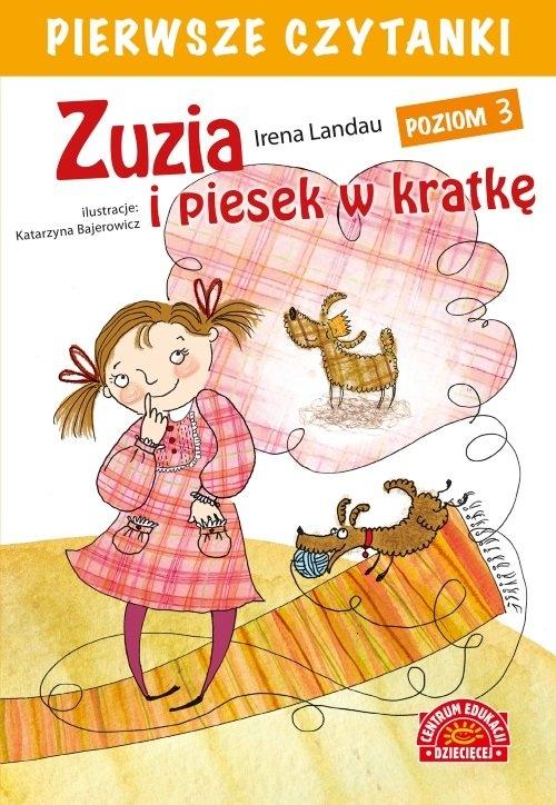 Pierwsze czytanki Zuzia i piesek w kratkę Landau Irena