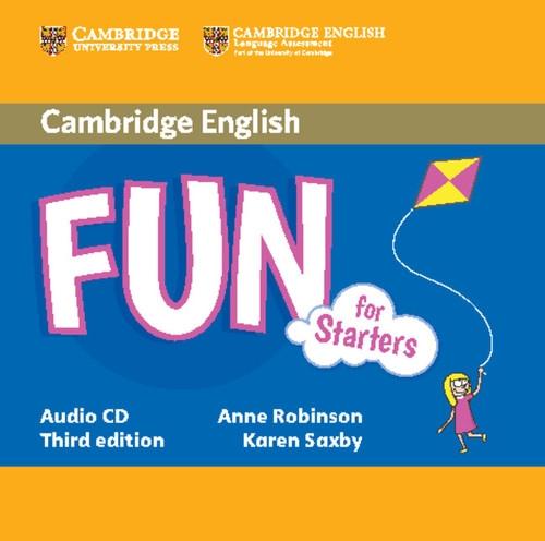 Fun for Starters Audio CD Robinson Anne, Saxby Karen
