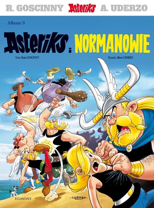 Asteriks Asteriks i Normanowie Tom 9 Goscinny Rene, Uderzo Albert