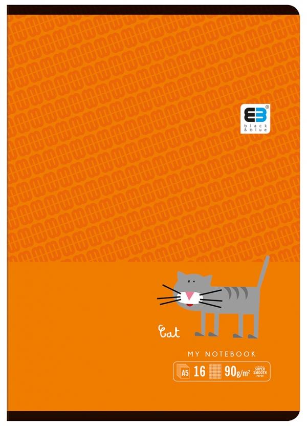 Zeszyt A5/16 kartkowy w kratkę
