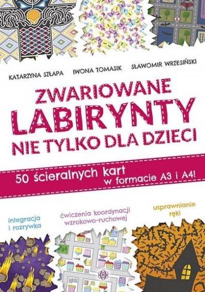 Zwariowane labirynty nie tylko dla dzieci Szłapa Katarzyna, Tomasik Iwona, Wrzesiński Sławomir