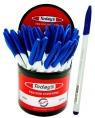 Długopis Today's Polo White niebieski 30 sztuk