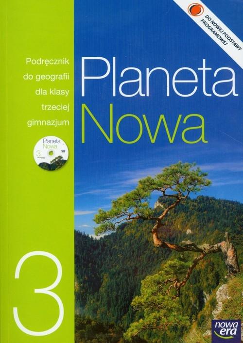 Planeta Nowa 3 Podręcznik + CD Szubert Mariusz