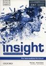 Insight Pre-Intermediate Workbook + Online practice