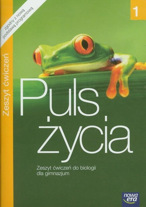 Puls życia 1 Biologia Zeszyt ćwiczeń Mazurek Elżbieta, Pawłowska Jolanta, Pawłowski Jacek, Zdziennicka Anna