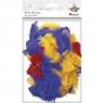 Piórka dekoracyjne, 8g - mix kolorów (338552)
