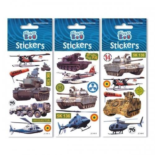 Naklejki Sticker BOO silver - Military