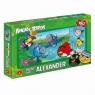Puzzle Przy wodospadzie Angry Birds Rio 160
