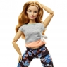 Lalka Barbie Made to Move - ruda (FTG80/FTG84)