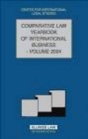 Comparative Law Yearbook of International Business 2004 Campbell,  Campbell,  Campbell
