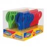 Nożyczki z gumową rączką Colorino Kids, 13 cm