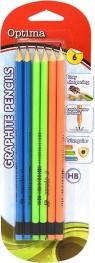 Ołówek grafitowy HB z gumką