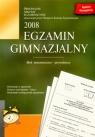 Egzamin gimnazjalny 2008 Blok matematyczno-przyrodniczy