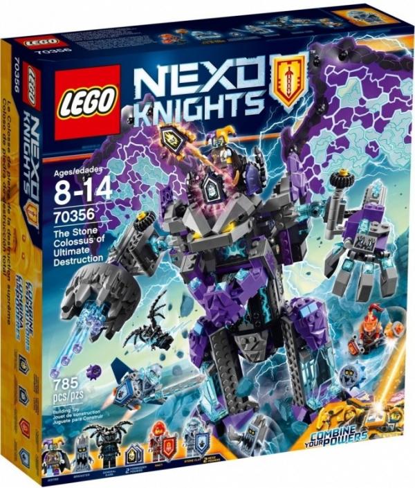 Nexo Knights Niszczycielski Kamienny Kolos (70356)