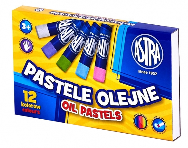 Pastele olejne Astra - 12 kolorów (313112001)