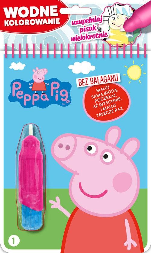 Peppa Pig Wodne kolorowanie Część 1