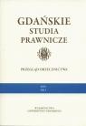 Gdańskie Studia Prawnicze Przegląd orzecznictwa 1/15