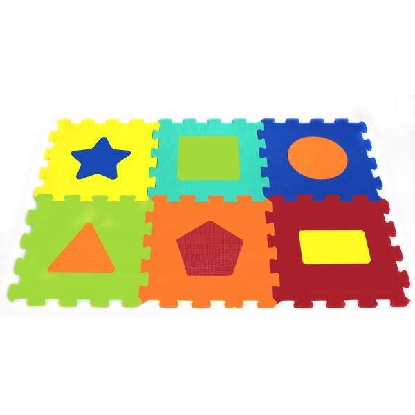 Puzzle piankowe Kształty (X-ART-1043B-6)