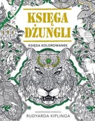 Księga dżungli. Księga kolorowanek praca zbiorowa