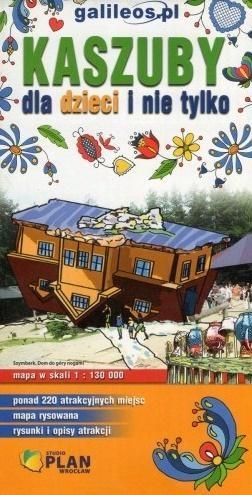Kaszuby dla dzieci i nie tylko 1:130 000 praca zbiorowa