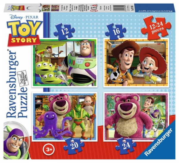 Puzzle Toy Story 3 4w1 (071081)