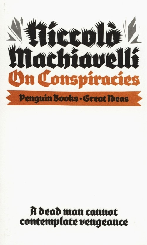 On Conspiracies Machiavelli Niccolo