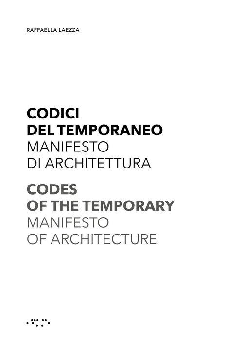 Codes of the Temporary Laezza Rafaella