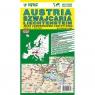Austria Szwajcaria mapa samochodowo-turystyczna