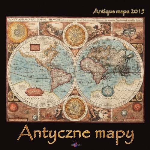Kalendarz 2015 Antyczne mapy