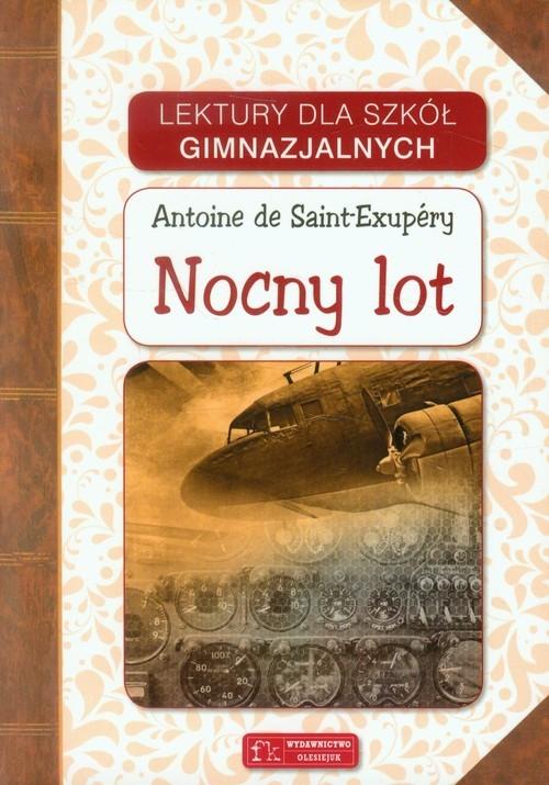 Nocny lot Saint-Exupery Antoine de