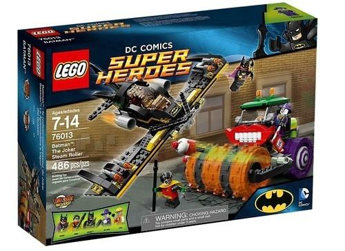 Lego Super Heros Batman: Parowy walec Jokera  (76013)