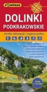 Mapa turystyczna - Dolinki Podkrakowskie 1:25 000