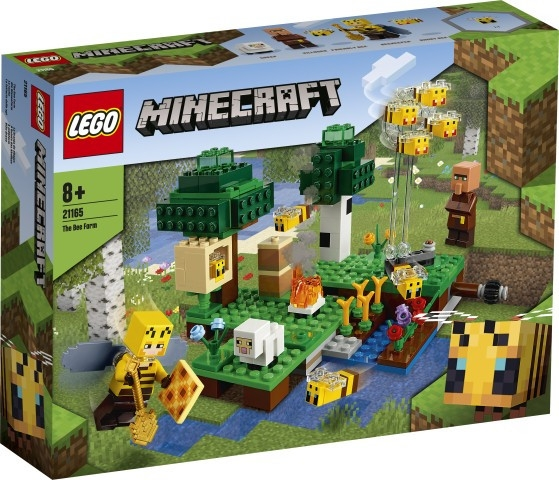 Klocki Minecraft Pasieka (21165)