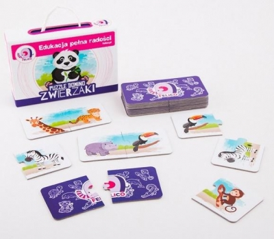 Puzzle domino - Zwierzaki
