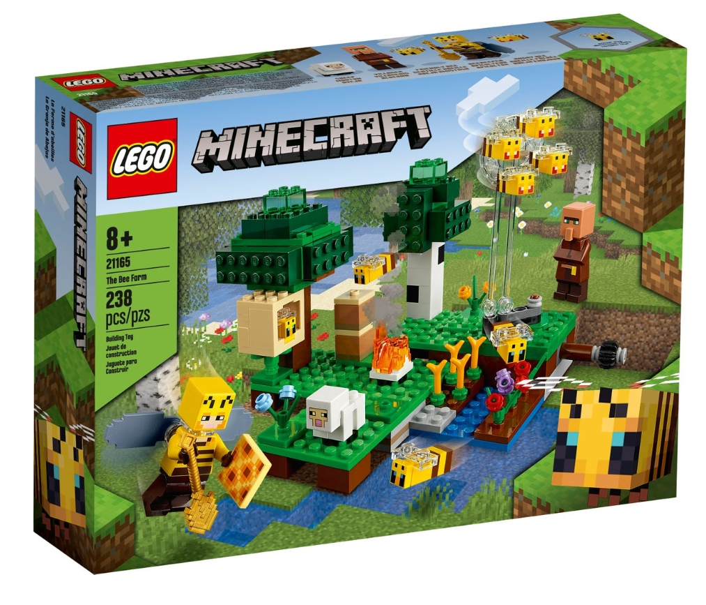 Lego Minecraft: Pasieka (21165)