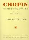 Chopin Complete Works Three esy waltzes