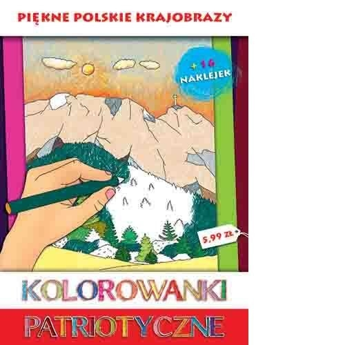 Kolorowanki patriotyczne Piękne polskie krajobrazy