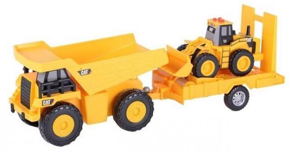 Truck 'N Trailer - Wywrotka z ładowarką DUMEL Toy State