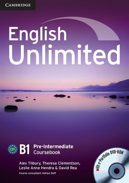 English Unlimited Pre-intermediate Coursebook + DVD Tilbury Alex, Clementson Theresa