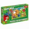 Puzzle Szalony Koncert - Angry Birds Rio 30