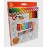 Kredki ołówkowe 12 kolorów Bonnini-Junior NOSTER