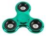 Fidget Spinner stalowy połysk metaliczny zielony