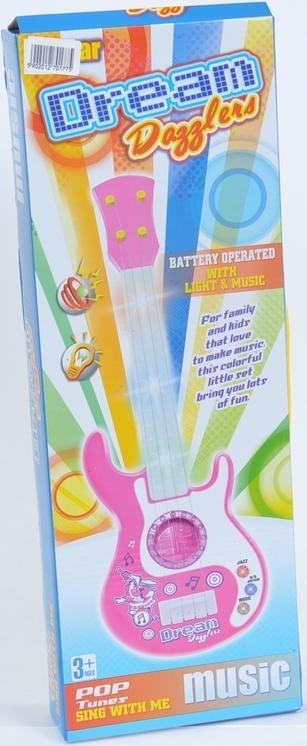 Gitara Plastikowa B/O (44x15x5) .