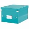 Pudło archiwizacyjne Leitz Click & Store A5 - turkusowy 216 mm x 160 mm x 282 mm (60430051)
