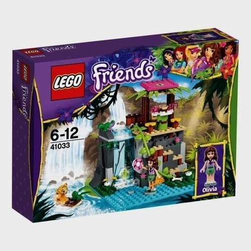 Lego Friends: Dzikie wodospady (41033)