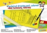 Blok techniczny Gimboo A3 kolorowy 10 kartek (7540BTS17-99/K)
