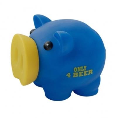Skarbonka Świnka Only 4 Beer niebieska MAPED